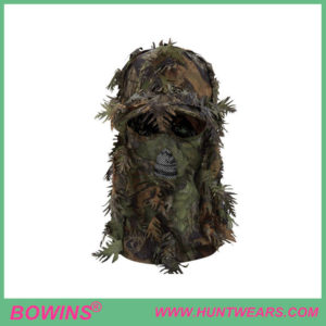 Hunting Game Face Gear Leafy Camouflage Cap