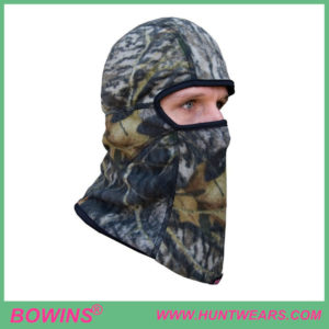 Mens hunter Deluxe Fleece Face Mask Hunting camo face mask