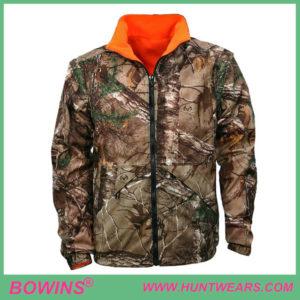 Mens hunter reversible hunting camouflage jacket