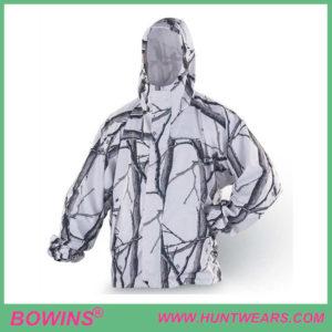 Mens winter snow waterproof hunting camouflage coat