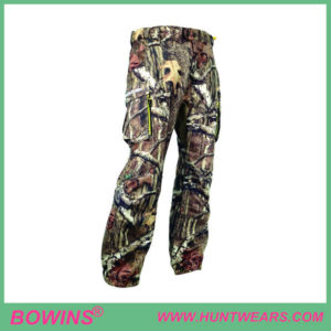 Mens woodland Camouflage hunting trousers