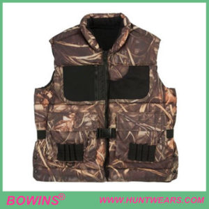 Mens Waterfowl Hunting soft padding Camo Shooting Vest