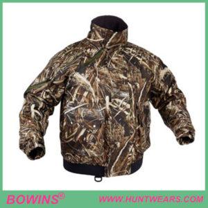 Mens duck waterproof hunting camo parka jacket