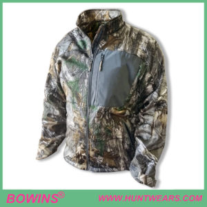 Mens hunter quarter zip waterproof camo hunting apparel