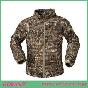 Mens waterproof duck hunting goose down jacket