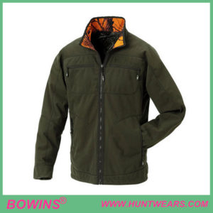 Men's camo-blaze hunting reversible deer hunting gear