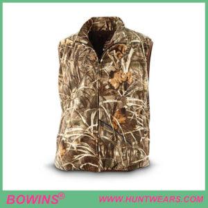 Men's hunter waterfowl camo bird hunting vest