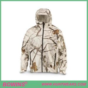 Men'sWaterproof Warm Snow Camo Hunting Jacket