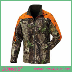 Mens deer camo waterproof reversible jacket hunting apparel