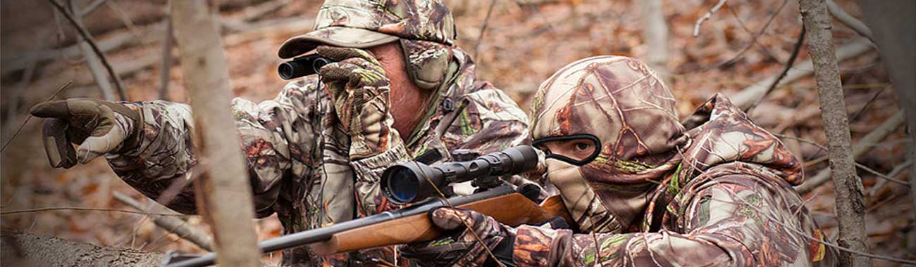 hunting clothes brands banner