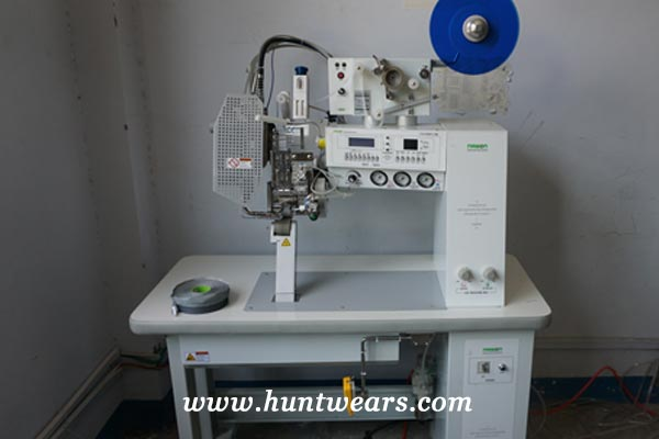 hunting clothes manufacturers machine