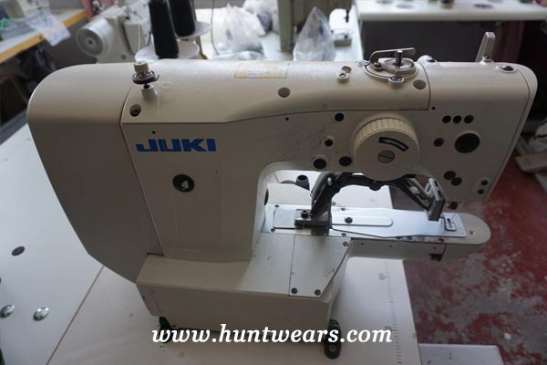 hunting clothing manufacturers machine