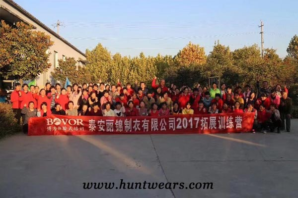 hunting clothing manufacturers team