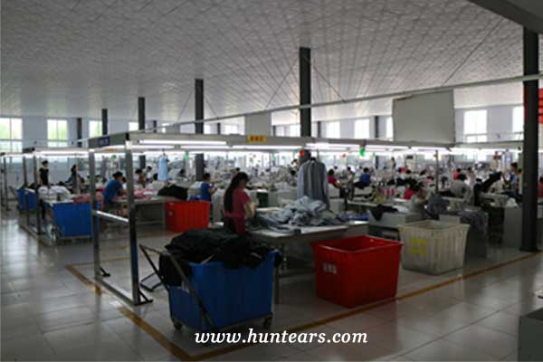 hunting gear manufacturing factory