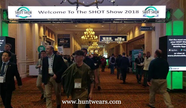 Hunting And Fishing Clothing Team Attended The SHOT Show 2018