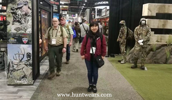 Hunting Clothing Team Attended The SHOT Show 2018